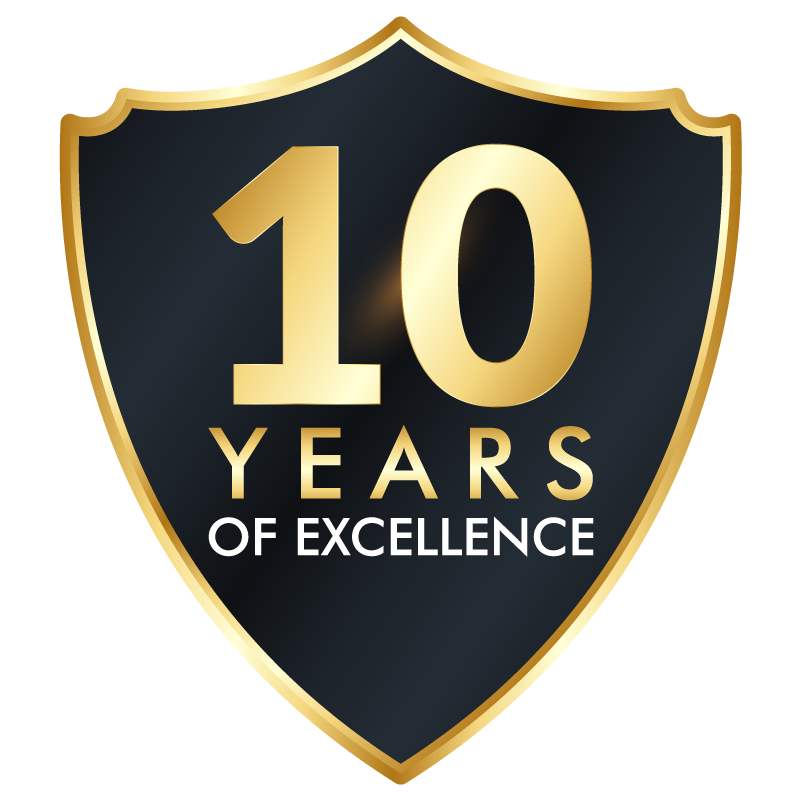 Ighty 10 years of excellence in dfw